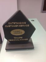 Land Rover Authorised Repairer Award